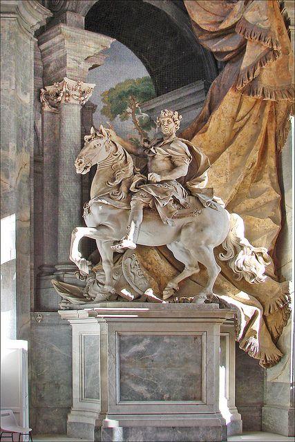 Vatican City Italy :: Basilica di San Pietro :: Charlemagne by Agostino Cornacchini √ http://en.wikipedia.org/wiki/Agostino_Cornacchini