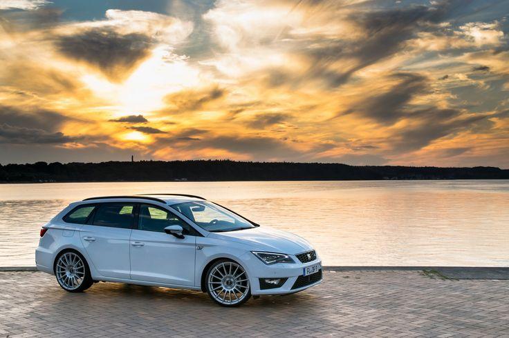 Seat Leon ST FR auf OZ Superturismo Felgen – Spanischer Golf gepimpt von DF Automotive - News auf Felgenshop.de