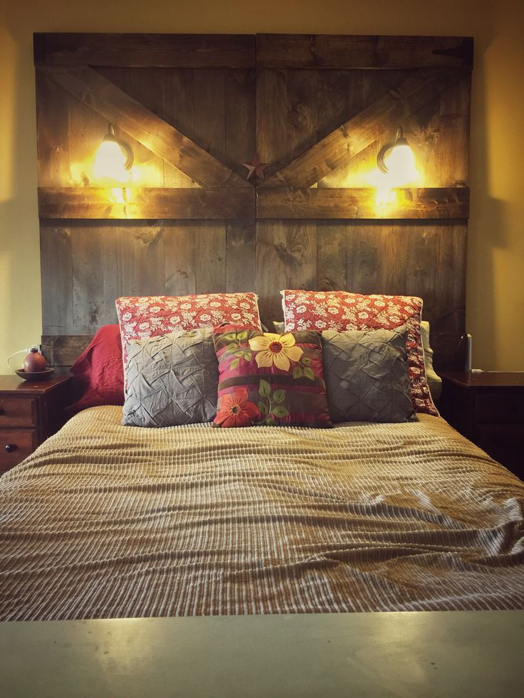 Log Bed Frame Rustic