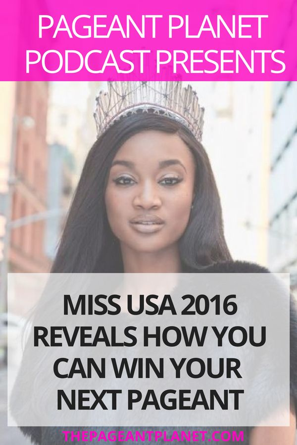 Miss USA is the Super Bowl of pageants and when you win Miss USA you also win a ticket to a whole new life. In today's show we talk to Deshauna Barber and ask her what strategies she implemented to win Miss USA. Listen in and you will catch a glimpse of why she is so successful and how you can be also.
