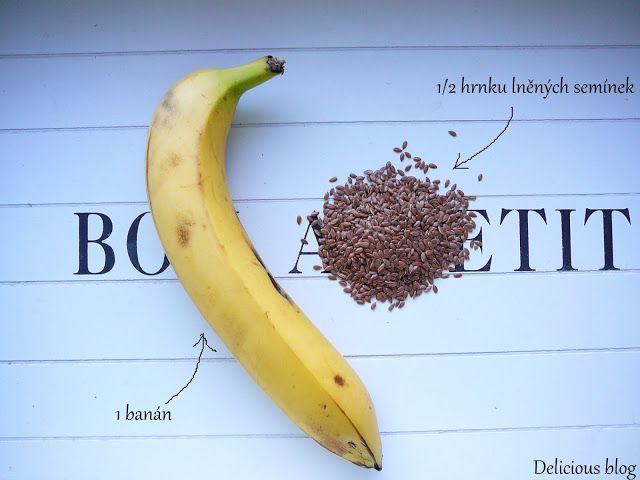Delicious blog: Banánovo-lněné krekry