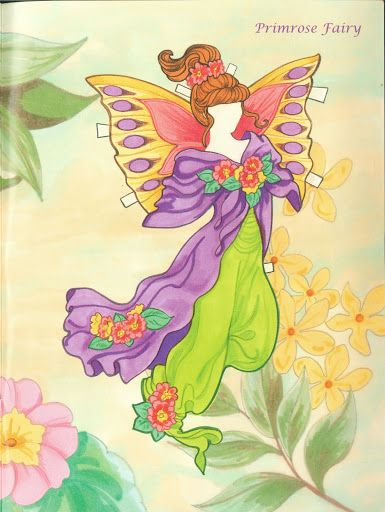 Fairy Paper Doll 03