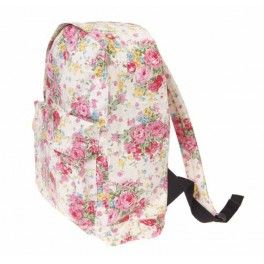 This cream floral ruck sack is much loved by teenagers! Only £19.99