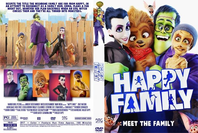 The Family 2017 Dvd Cover