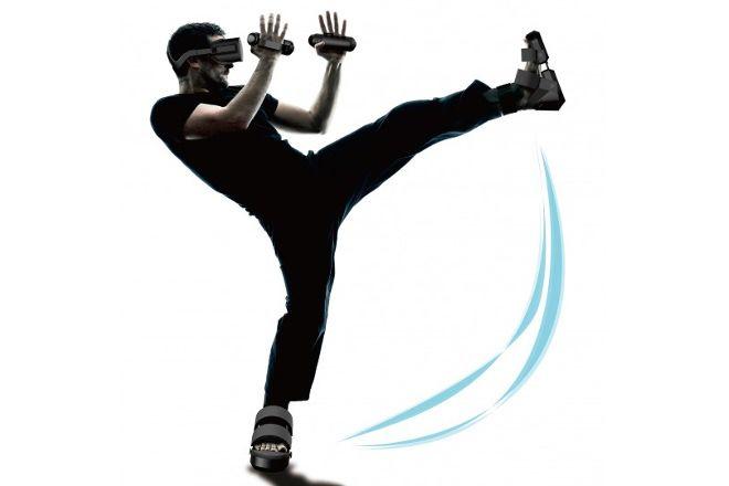 仮想現実の中で「蹴り」をきめられる?―VRシューズ&グローブが登場