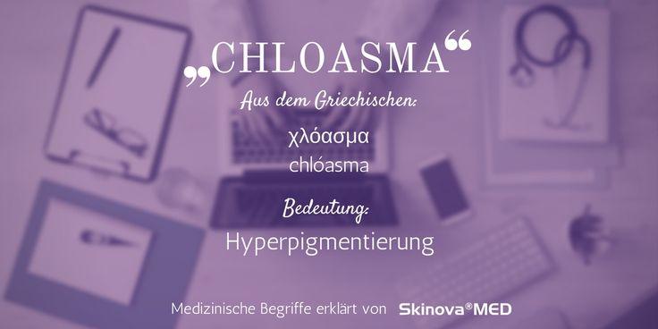Die Bezeichnung Chloasma betitelt eine Hautkrankheit, die von einer starken Ansammlung an Pigmentflecken im Gesichtsbereich geprägt ist. Mehr dazu im Blog!