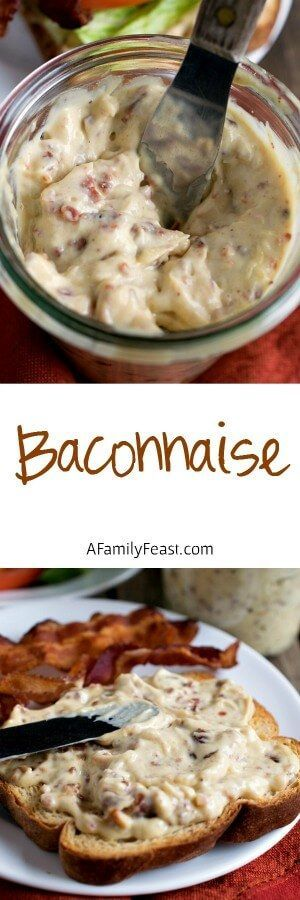 Baconnaise - Add fantastic flavor to any sandwich with this bacon-flavored mayonnaise! It contains healthy fat - no veg oils here and it's great for low carb, keto, and paleo!