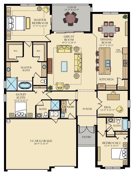 138 best Plan maison images on Pinterest House floor plans - simulation construction maison gratuit