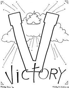 For The Letter V Our Readers Chose Theme Victory This Is A Wonderful Way To Talk About Power Of Christ Jesus Has Won Great Over Sin