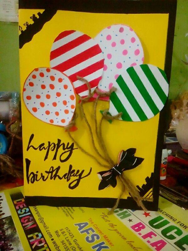 Hand made birthday cards.
