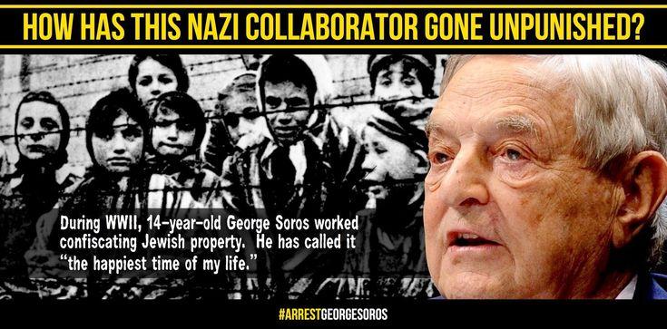 George Soros w wieku 14 lat wraz z swoim opiekunem ograbiał Żydów z majątku. Na pytanie czy nie odczuwał z tego powodu wyrzutów