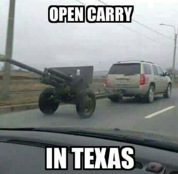 Go big or go home. Texas style.
