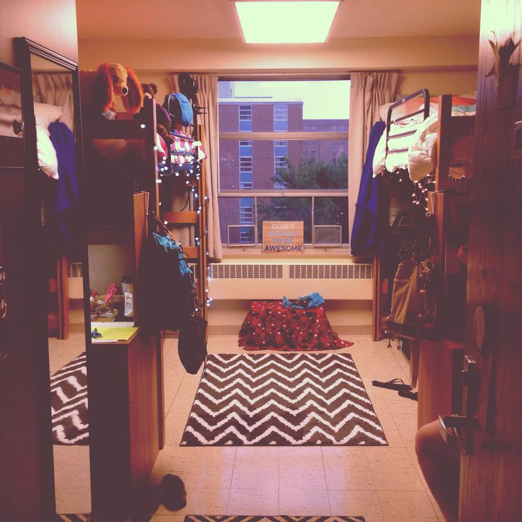 Typical Dorm Room Layout Carpet Is A Key Addition