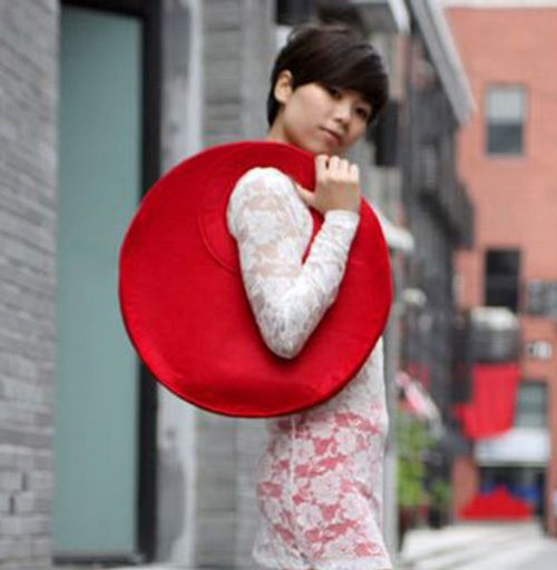 Cheap handbag fringe, Buy Quality handbag silver directly from China bag unisex Suppliers:      Free Shipping 2015 Fashion Creative Trend Felt Bag Handbags Simple Hand -made Bag Round Felt Bag Nice W