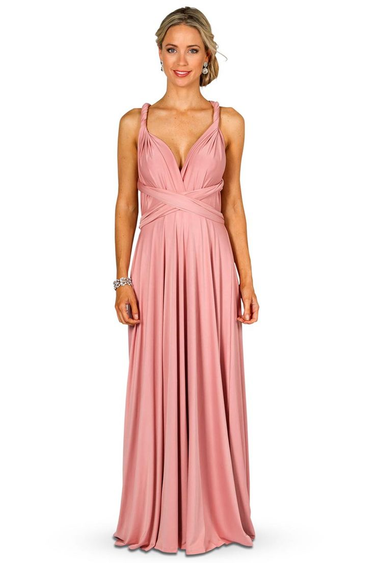1000 Ideas About Dusty Pink Bridesmaid Dresses On Pinterest