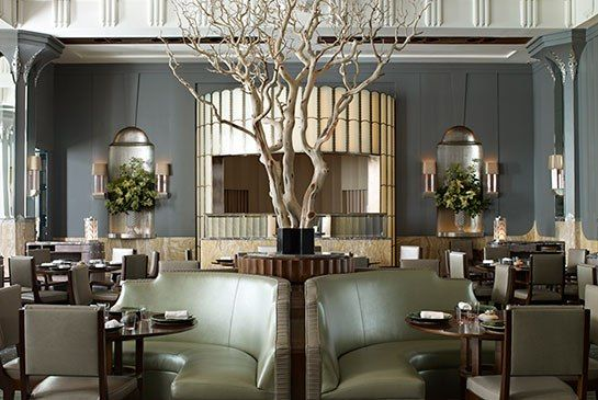 Guy Oliver Tells AD About His Design for Claridge's Restaurant: Guys Olives, Restaurant Design, Claridg Hotels, Interiors Design, London Restaurant, Dining, Fera Restaurant, Bar, Simon Rogan