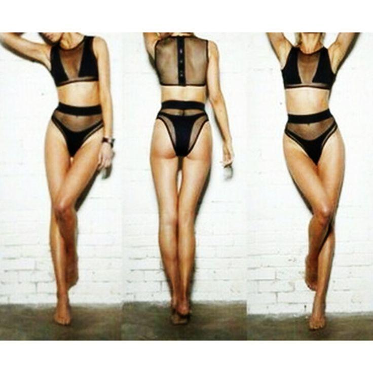 Bikini Women Swimwear Swimsuit Bathing Suit black