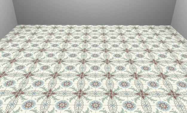 CAROBATI STEENGOED IN TEGELS - Keramische patroontegels