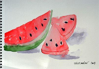 Summer watermelon. Tasty. :)