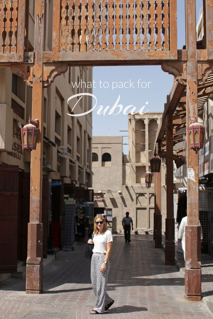 What to Pack for Dubai | ESCAPE BUTTON BLOG
