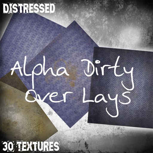 [D] Dirty Overlays- Alphas - Boxed