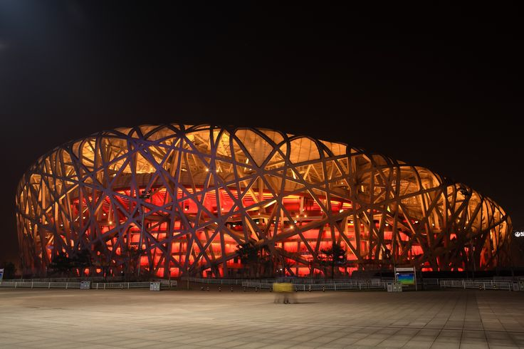 Architecture+of+the+Night | 鳥巢 by Dickson in Architecture of the night, Beijing National ...