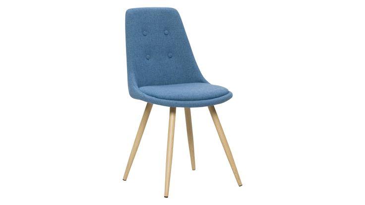 OSLO-tuoli (sininen/tammi) | Sotka