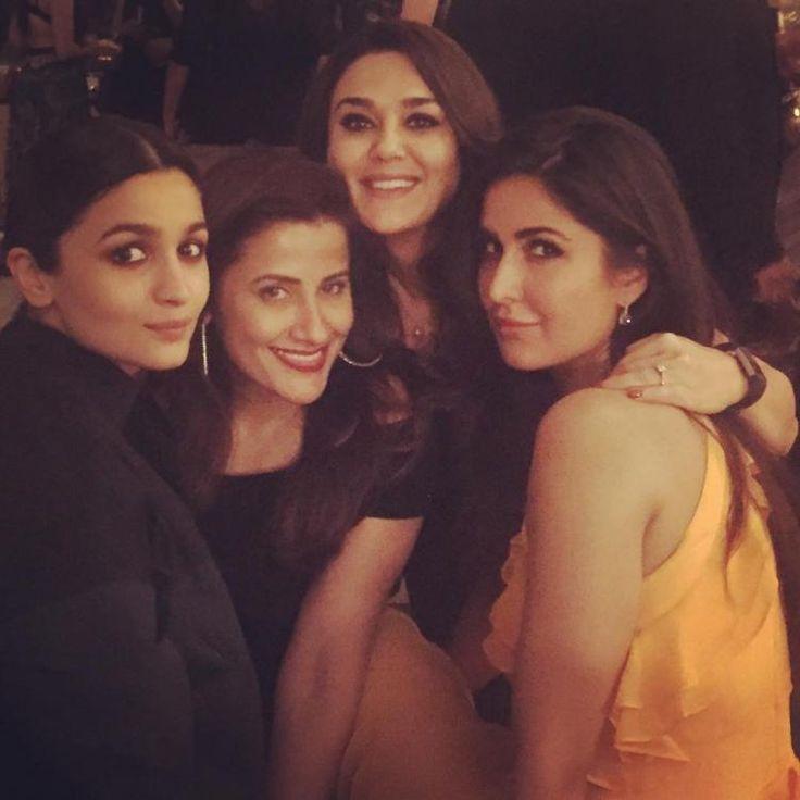 Photos: Katrina Kaif celebrates her birthday with Alia Bhatt and Preity Zinta in New York