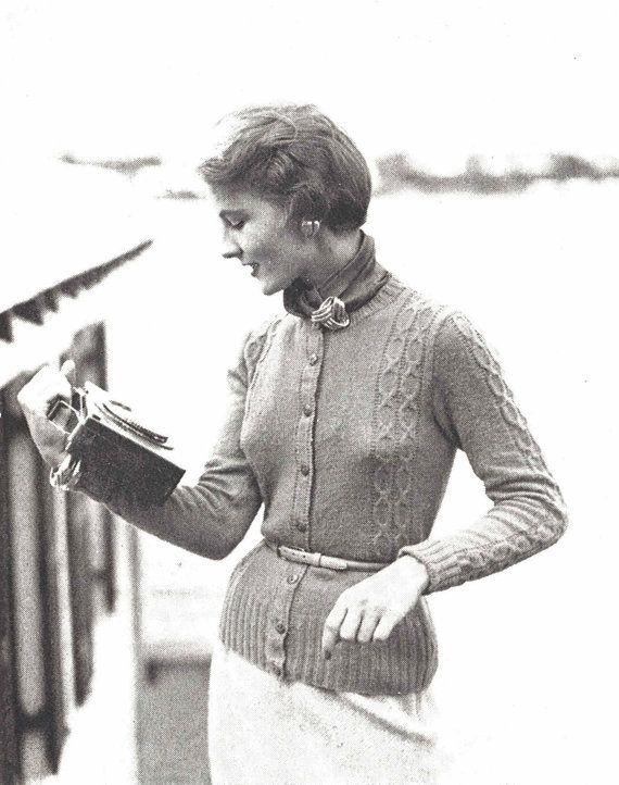 Mejores 401 imágenes de Идеи вязание en Pinterest | 1940s, Abrigo y ...