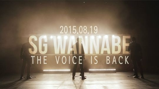 SG Wannabe to make their comeback in 4 years with mini album 'The Voice'