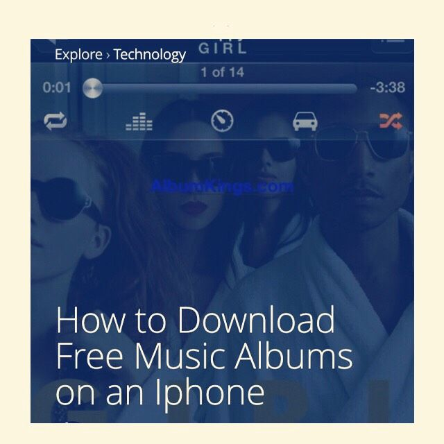 How To Download Free Music Albums On An Iphone  #Entertainment #Trusper #Tip