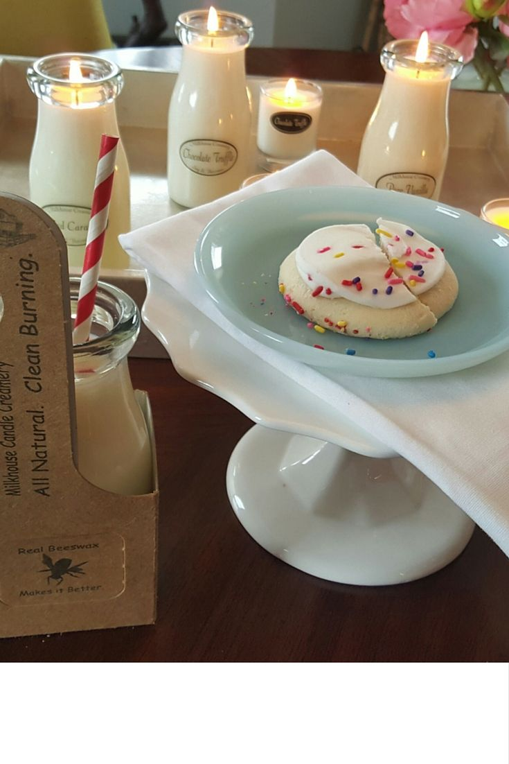 Fill your home with the sweet aromas of your favorite baked goods by lighting our Candles. An easy way to indulge!