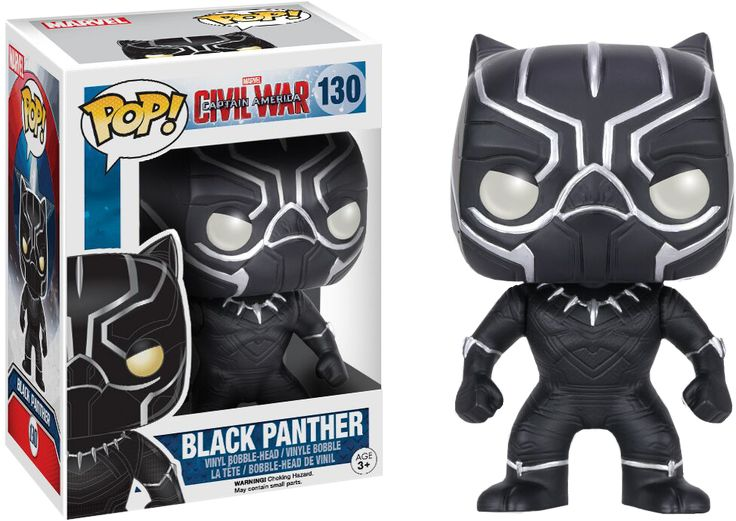Black Panther Pop! Vinyl | Captain America: Civl War Pop! Vinyl | Popcultcha
