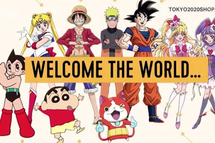 Le Japon vient de dévoiler les ambassadeurs officiels desJeux Olympiques de Tokyo 2020 :Naruto, San Goku, Sailor Moon, Luffy, Astroboy et autres personnage