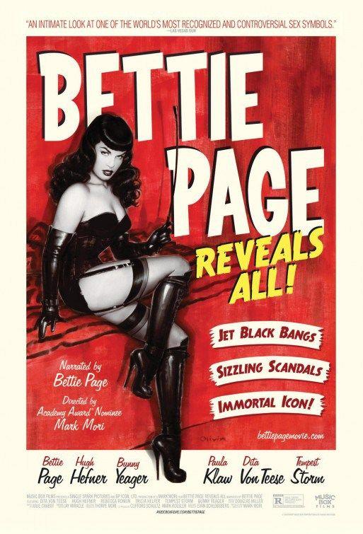 Bettie Page Reveals All   www.eklectica.in
