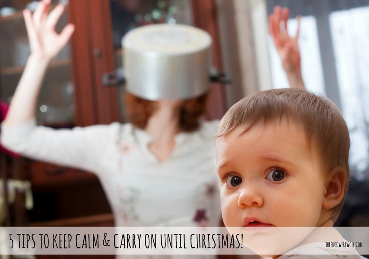 5 tips to keep calm & carry on until Christmas thefoodwerewolf.com #christmas #additivefree