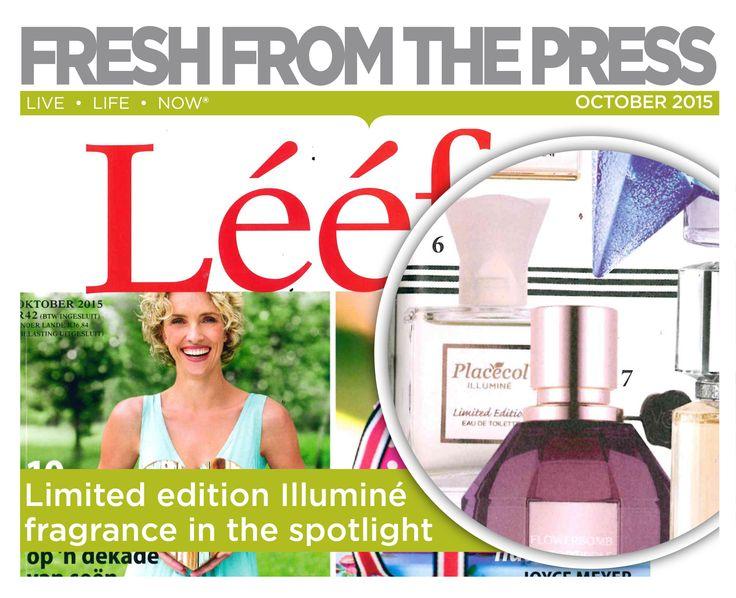 Limited edition Illumine fragrance in the spotlight. #FreshPress