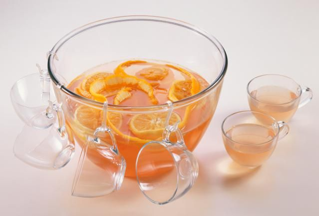 The Perfect Fruit Punch with Ginger Ale