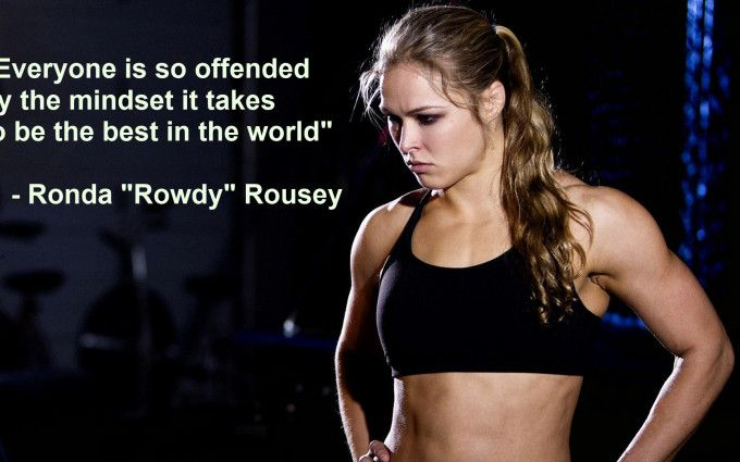 Ronda Rousey Quotes Wallpaper