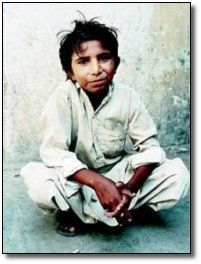 Iqbal Masih (Urdu: اقبال مسیح) (b. 1982 - April 16, 1995), was a young Pakistani Christian boy who was forced into bonded labour in a carpet factory at the age of four, became an international figurehead for the Bonded Labour Liberation Front at the age of 10 after he escaped from servitude, and was murdered with a 12 gauge shotgun at the age of 12. David L.Barker wrote Stolen Dreams: Portraits of Working Children, in which he described the life of child labor and Iqbal Masih.