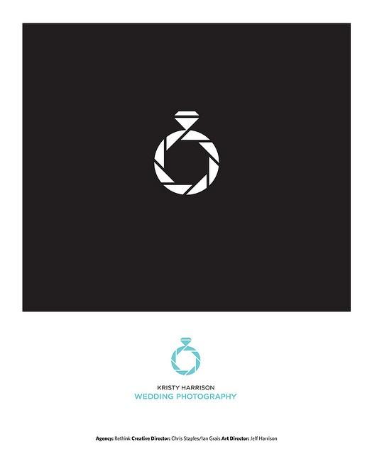 creative wedding photography logo design
