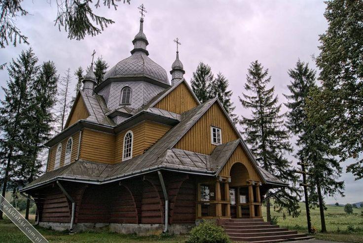 Cerkiew greckokatolicka w Gładyszowie   Beskid Niski
