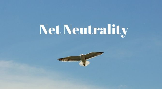 Net neutrality offers an open network to people online for communication and protection of free speech.