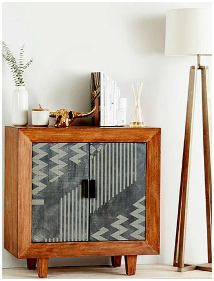Cool cabinet!!! Love the graphic/ethnic design. Via Nordstrom Rack.