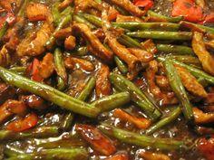 Chinees Varkensvlees, Bonen, Paprika, Gember, Oestersaus recept | Smulweb.nl