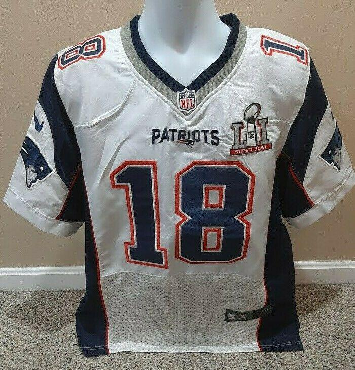 New England Patriots Matthew Slater Super Bowl LI Nike On Field ...