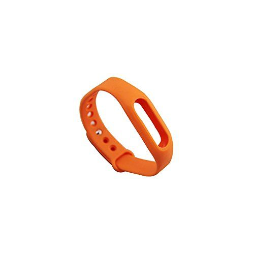 Bradychan® Replacement Band Wrsitband for Xiaomi Mi Band MiBand Bracelet Fitness Wearable Tracker No Tracker (orange)