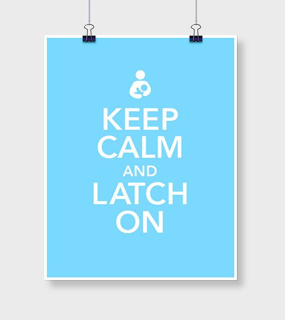 Keep Calm Latch On
