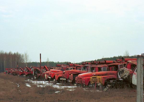 Rassokha - Roncstemető Csernobil közelében - Szellemvárosok a világban