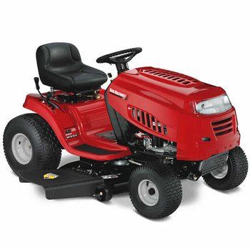 Yard Machines 420cc 42-Inch Riding Lawn Mower           $ 1,099.00 Tractors Product Features 42″ 420cc MTD Powermore Engine with Shift on the Go Drive System Mulching and bagging capability Features a 42″ blade that can cut a wide area 7-speed gear shift to give you the power Tractors Product Description The 42″ 420cc MTD Powermore Yard Machines Riding Mower will make it easy […]  http://www.gardenmowersshop.com/yard-machines-420cc-42-inch-riding-lawn-mower-2/